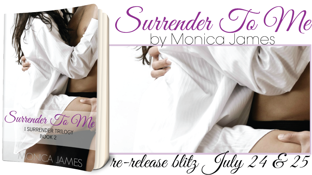 SURRENDER TO ME release banner