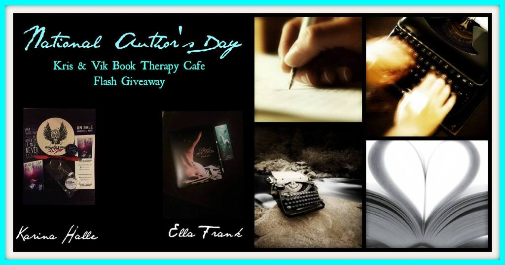 FLASH GIVEAWAY AUTHOR DAY