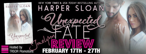 REVIEW & GIVEAWAY: UNEXPECTED FATE by Harper Sloan