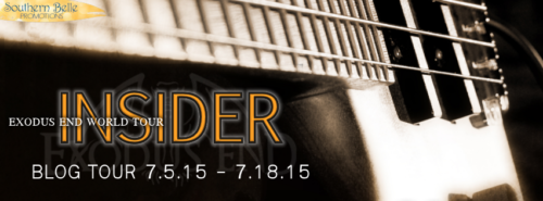 REVIEW & GIVEAWAY: INSIDER by Olivia Cunning