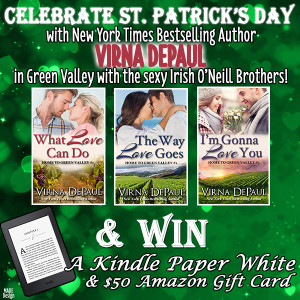 Virna DePaul's ST. PATTY'S DAY GIVEAWAY