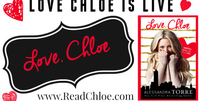 RELEASE BLITZ: LOVE, CHLOE by Alessandra Torre