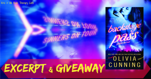 SPOTLIGHT EXCERPT & GIVEAWAY: BACKSTAGE PASS by Olivia Cunning