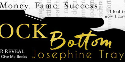 COVER REVEAL & GIVEAWAY: ROCK BOTTOM by Josephine Traynor