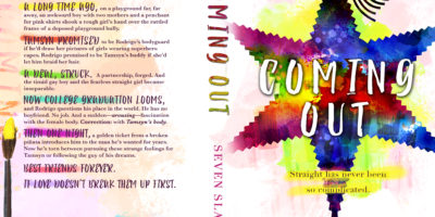COVER REVEAL: COMING OUT by Seven Slade