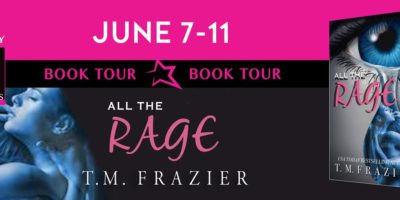 REVIEW & GIVEAWAY: ALL THE RAGE by T.M. Frazier