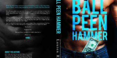 COVER REVEAL: BALL PEEN HAMMER by Lauren Rowe