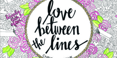BOOK NEWS: LOVE BETWEEN THE LINES: An Adult Coloring Book for Book Lovers! by Christina Collie