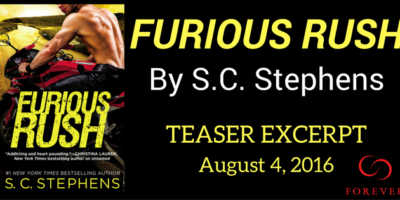 EXCERPT, GIVEAWAY & FB PARTY: FURIOUS RUSH by S.C. Stephens‏