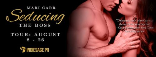 REVIEW, EXCERPT & GIVEAWAY: SEDUCING THE BOSS by Mari Carr