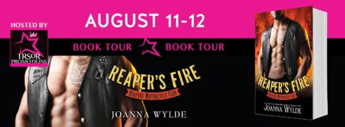 REVIEW & GIVEAWAY: REAPER'S FIRE by Joanna Wylde