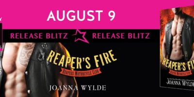 RELEASE BLITZ: REAPER'S FIRE by Joanna Wylde
