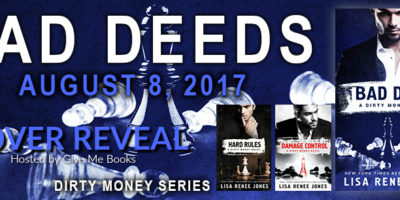 COVER REVEAL: BAD DEEDS by Lisa Renee Jones