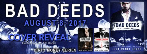COVER REVEAL: BAD DEEDS by Lisa Renee Jones