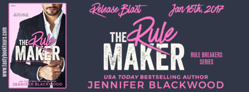 NEW RELEASE REVIEW & GIVEAWAY: THE RULE MAKER by Jennifer Blackwood