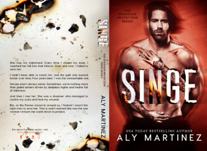 COVER REVEAL: SINGE by Aly Martinez