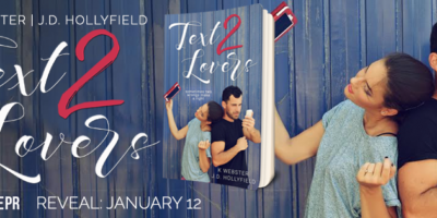 COVER REVEAL & GIVEAWAY: TEXT 2 LOVERS by K Webster and J.D. Hollyfield