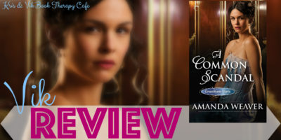 REVIEW, Q&A & GIVEAWAY: A COMMON SCANDAL by Amanda Weaver