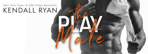 COVER REVEAL: THE PLAY MATE by Kendall Ryan