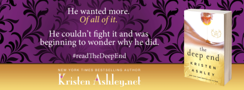 BOOK TRAILER: THE DEEP END by Kristen Ashley