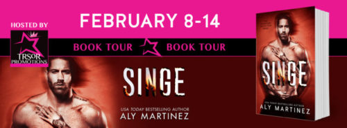 REVIEW & EXCERPT: SINGE by Aly Martinez