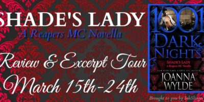 REVIEW & EXCERPT: SHADE'S LADY by Joanna Wylde