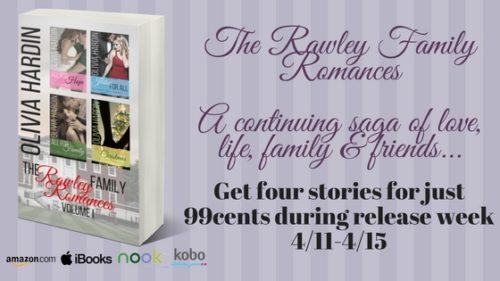 NEW RELEASE: THE RAWLEY FAMILY ROMANCES by Olivia Hardin