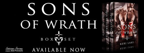RELEASE BLITZ & GIVEAWAY: Sons of Wrath Boxset by Keri Lake